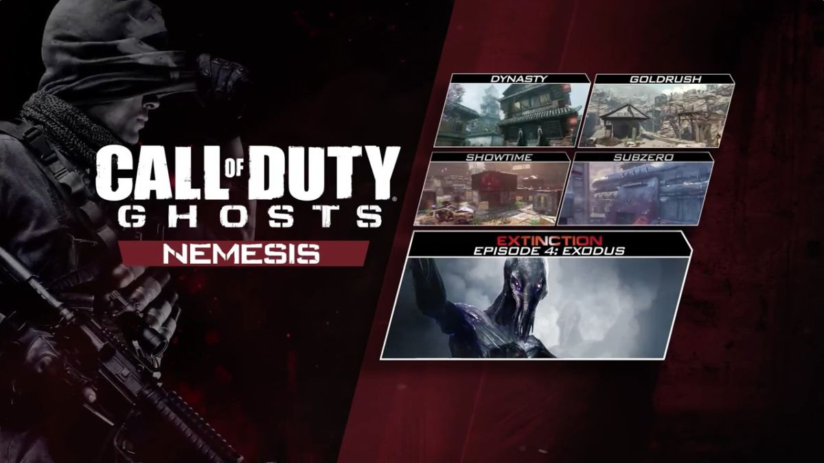 call of duty ghosts nemesis - Dlc Call of Duty: Ghosts Nemesis