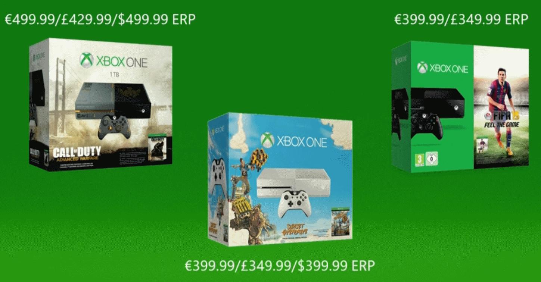 triple xbox one bundle - Conférence de presse Gamescom 2014