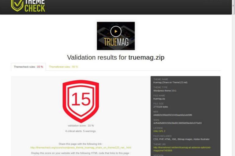truemag note 770x513 - Testez votre thème Wordpress !