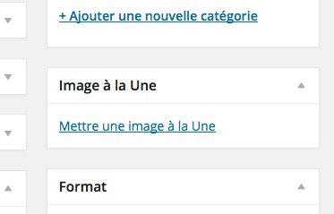 wordpress-Image-a-la-une