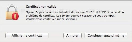 certificat non valide NAS - 10 conseils sécurité pour votre NAS