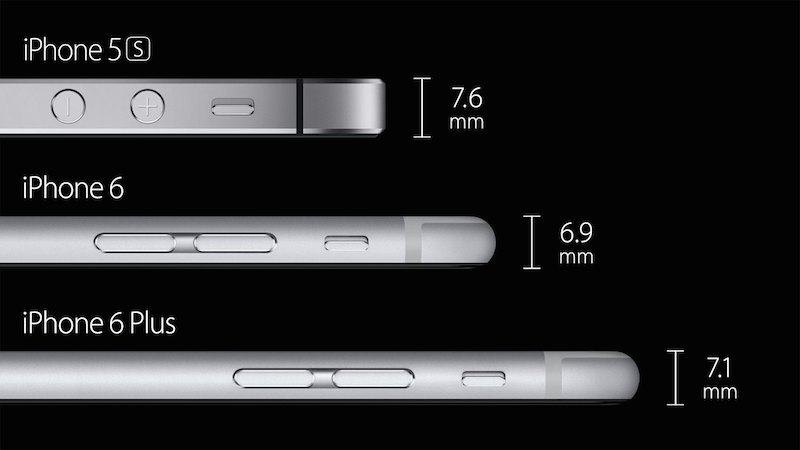 epaisseur iphone - L'iPhone 6 serait très/trop fragile...