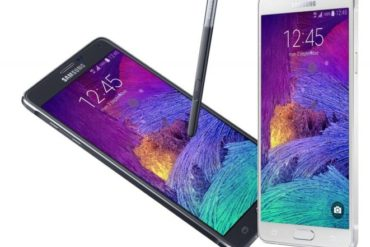 galaxy note 4 370x247 - Samsung lance le Galaxy Note 4