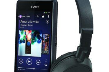 sony xperia E1 casque zx100 370x247 - Bon plan : Sony Xperia E1 + ZX100 à 59€