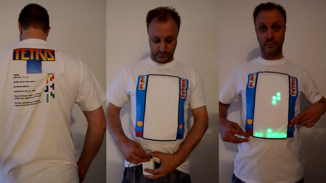 tetris shirt - Le Tetris-Shirt