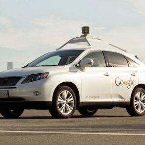 Lexus Google 293x293 - Voiture sans conducteur - Google, Mercedes et Audi autorisés à circuler
