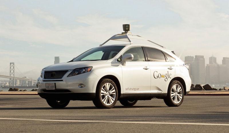 Lexus Google - Voiture sans conducteur - Google, Mercedes et Audi autorisés à circuler