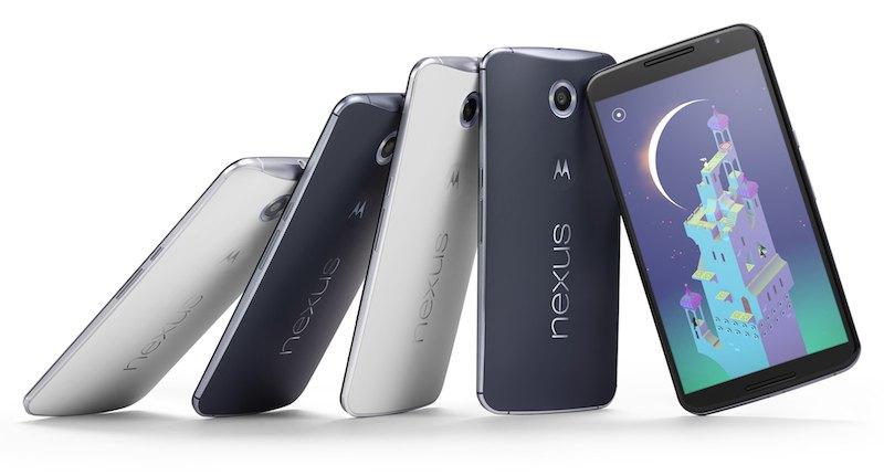 Nexus 6 Lollipop - Google lance le Nexus 6 !