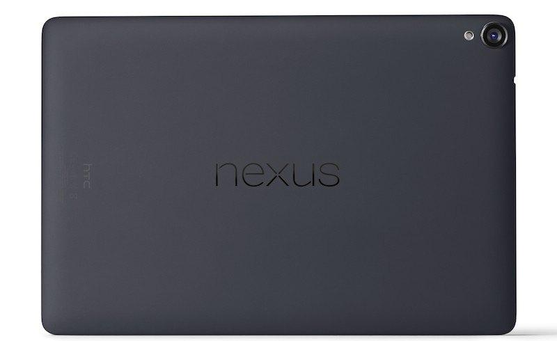 Nexus 9 Back Black - Google Nexus 9 est officielle