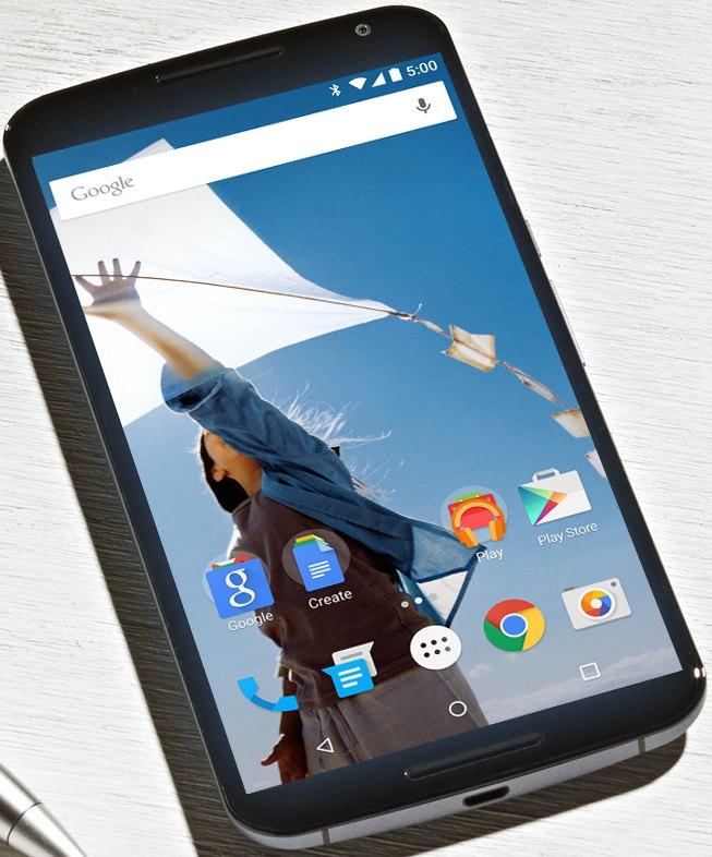 Nexus6 - Google lance le Nexus 6 !