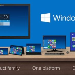 Windows Product Family 9 293x293 - Window 10 se dévoile... officiellement
