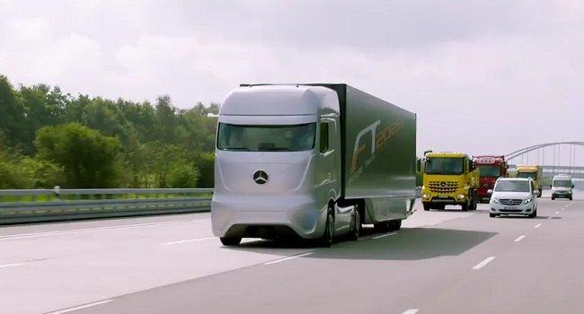 camion mercedes sans conducteur - Voiture sans conducteur - Google, Mercedes et Audi autorisés à circuler
