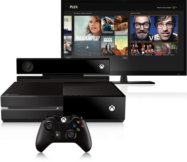 plex xbox - Plex est disponible sur Xbox 360 et One