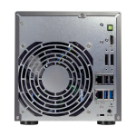 AS5004T arriere 150x150 - ASUSTOR lance 4 nouveaux NAS : AS5002T, AS5102T, AS5004T et AS5104T