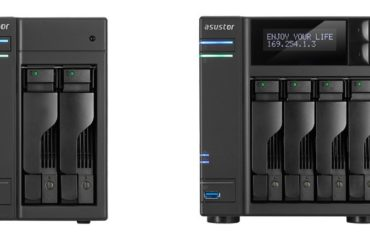 ASUSTOR AS5102T AS51004T 370x247 - ASUSTOR lance 4 nouveaux NAS : AS5002T, AS5102T, AS5004T et AS5104T