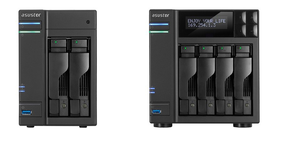 ASUSTOR AS5102T AS51004T - ASUSTOR lance 4 nouveaux NAS : AS5002T, AS5102T, AS5004T et AS5104T