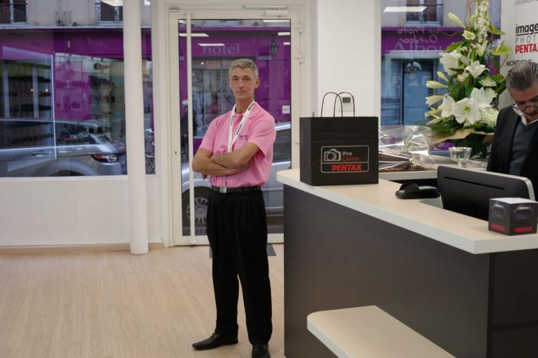 Pentax Store4 770x513 - Le 1er Pentax Store ouvre ses portes