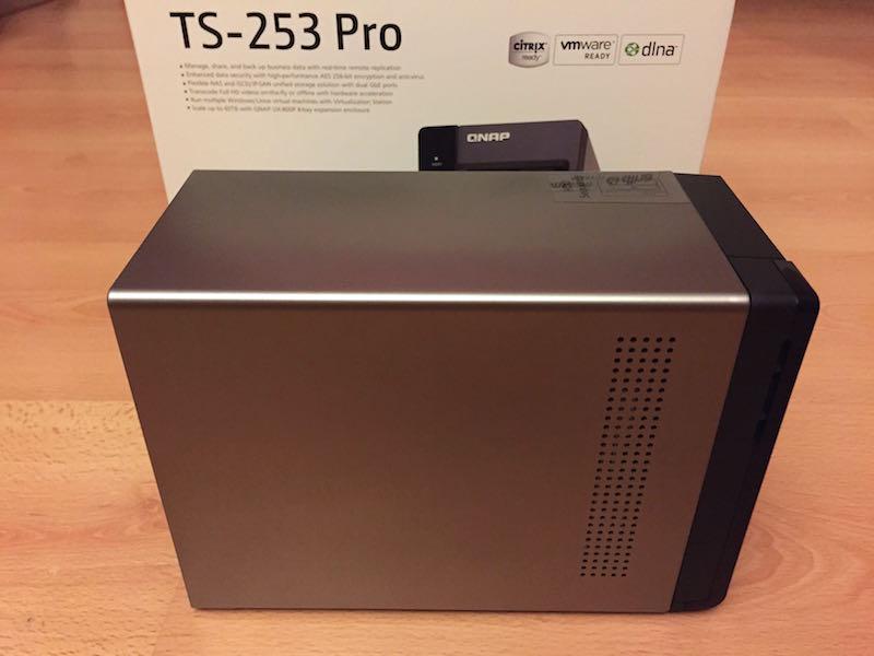 TS 253 pro cote - Test NAS - QNAP TS-253 Pro, la nouvelle référence ?