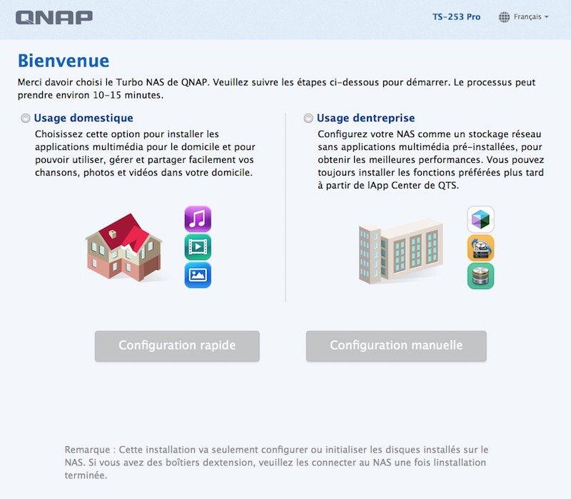 choix installation - Test NAS - QNAP TS-253 Pro, la nouvelle référence ?