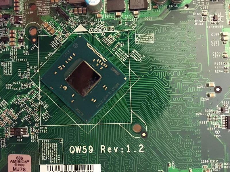 vue processeur - Test NAS - QNAP TS-253 Pro, la nouvelle référence ?