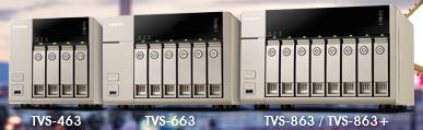 QNAP TSV x631 - NAS - QNAP s'acoquine avec AMD : TVS-463, TVS-663 et TVS-863
