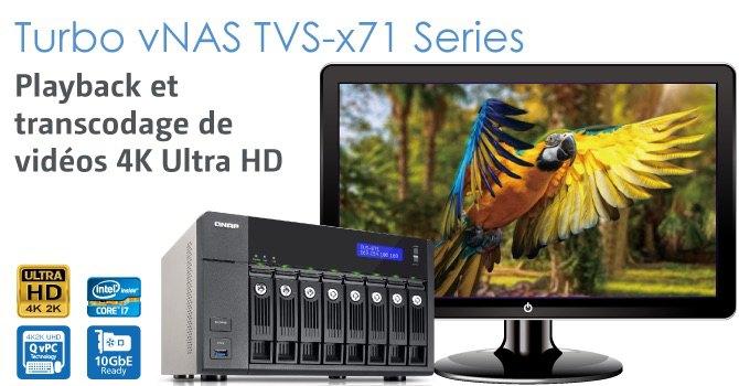qnap TVS x71 - QNAP dévoile la gamme Turbo vNAS TVS-x71