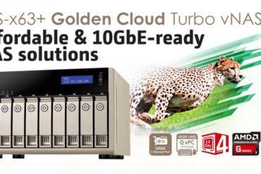 qnap tvs x63  370x247 - NAS - QNAP s'acoquine avec AMD : TVS-463, TVS-663 et TVS-863
