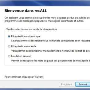 recALL recuperation 293x293 - recALL - Comment retrouver vos clés de licences et mots de passe sous Windows ?