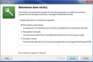 recALL recuperation 370x247 - recALL - Comment retrouver vos clés de licences et mots de passe sous Windows ?