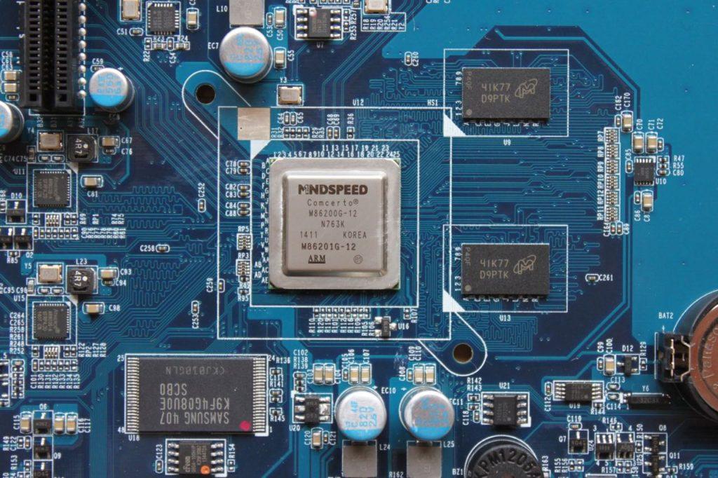 CPU TS 431 1024x682 - Test du NAS QNAP TS-431