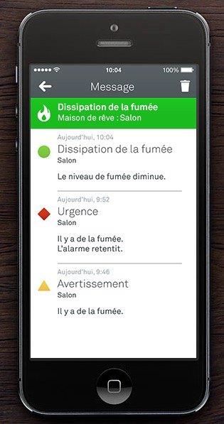 appli nest - Les détecteurs de fumée et Nest...
