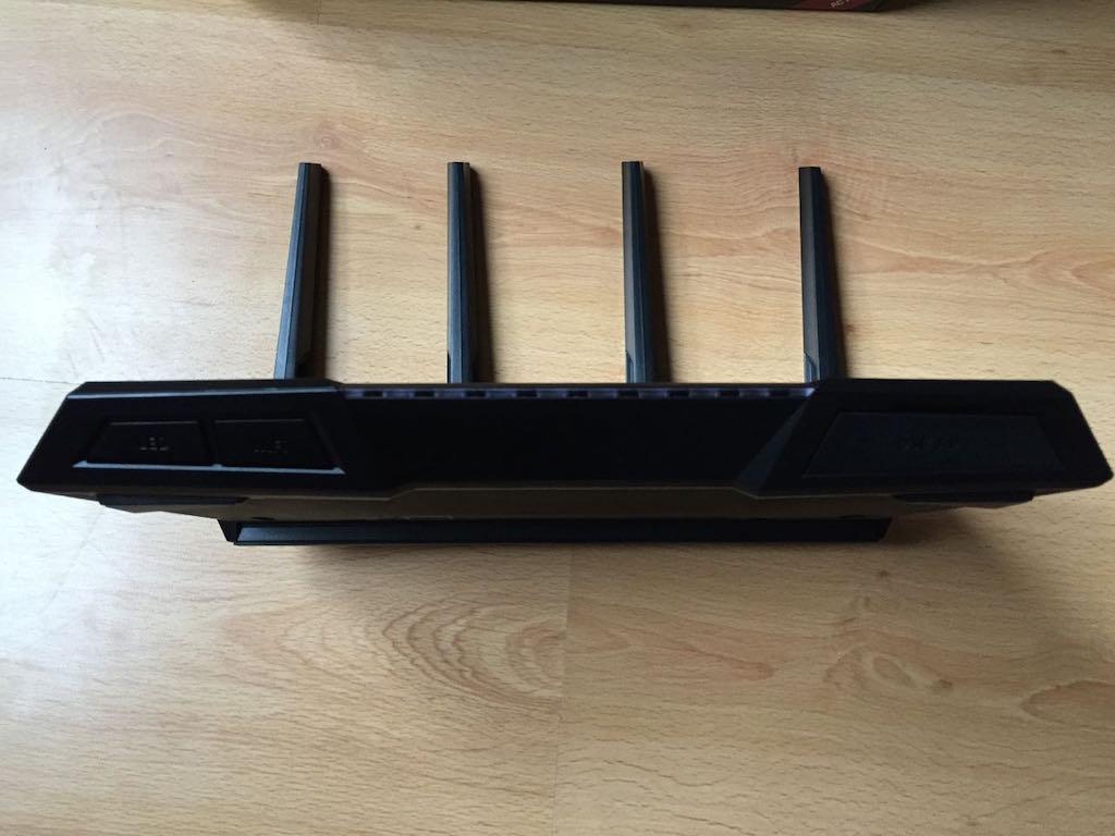 asus rt ac87u avant - Test du routeur ASUS RT-AC87U