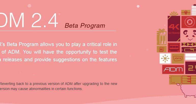asustor ADM 2.4 770x409 - NAS - ASUSTOR ADM 2.4 débarque en Beta