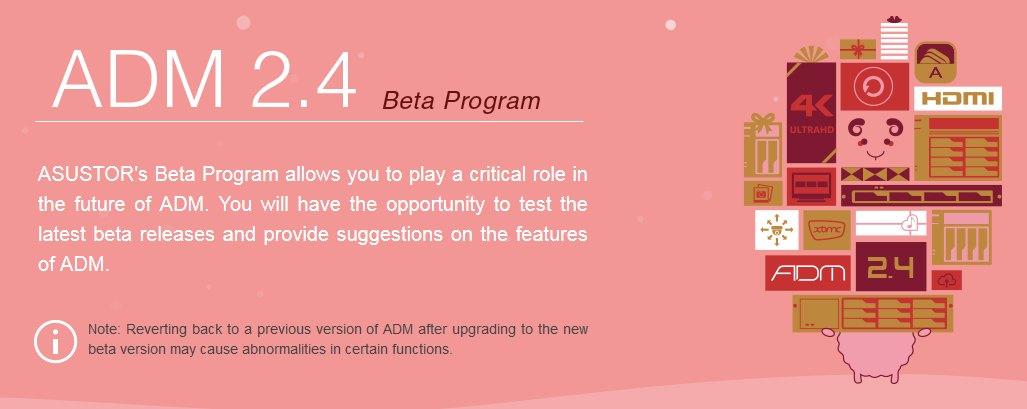 asustor ADM 2.4 - NAS - ASUSTOR ADM 2.4 débarque en Beta