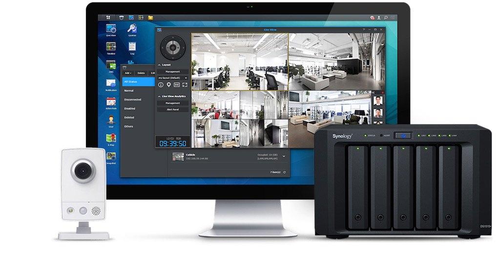 surveillance station 7 - CeBIT - Synology va présenter un routeur Wi-Fi, DSM 5.2 et ...