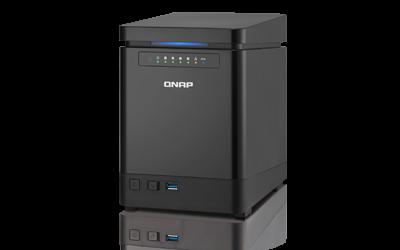 Qnap TS 453mini - Qnap TS-453mini, un NAS au format vertical