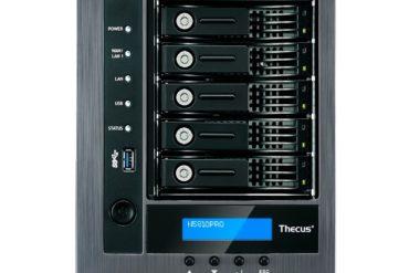 THECUS N5810PRO face 370x247 - NAS - Thecus présente le N5810Pro