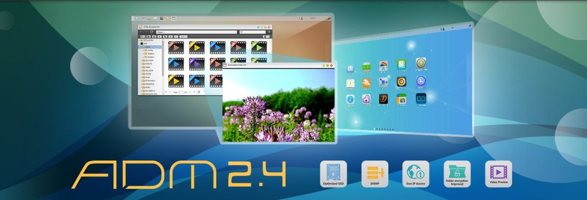 adm 24 - ADM 2.4 disponible pour les NAS Asustor