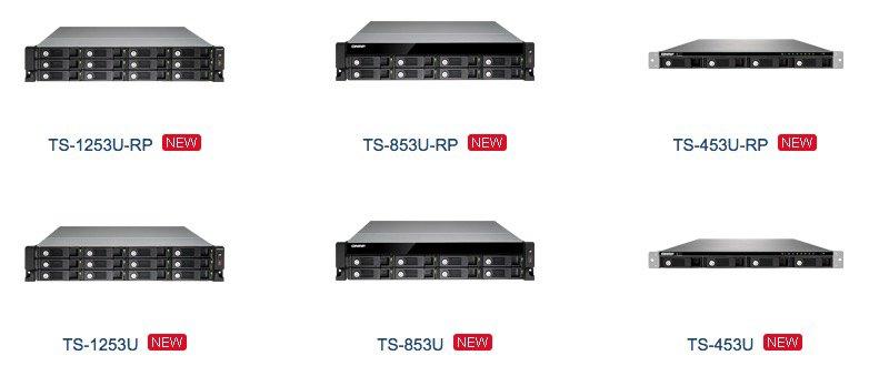 qnap ts x53U - QNAP présente sa gamme Turbo NAS rackable TS-x53U