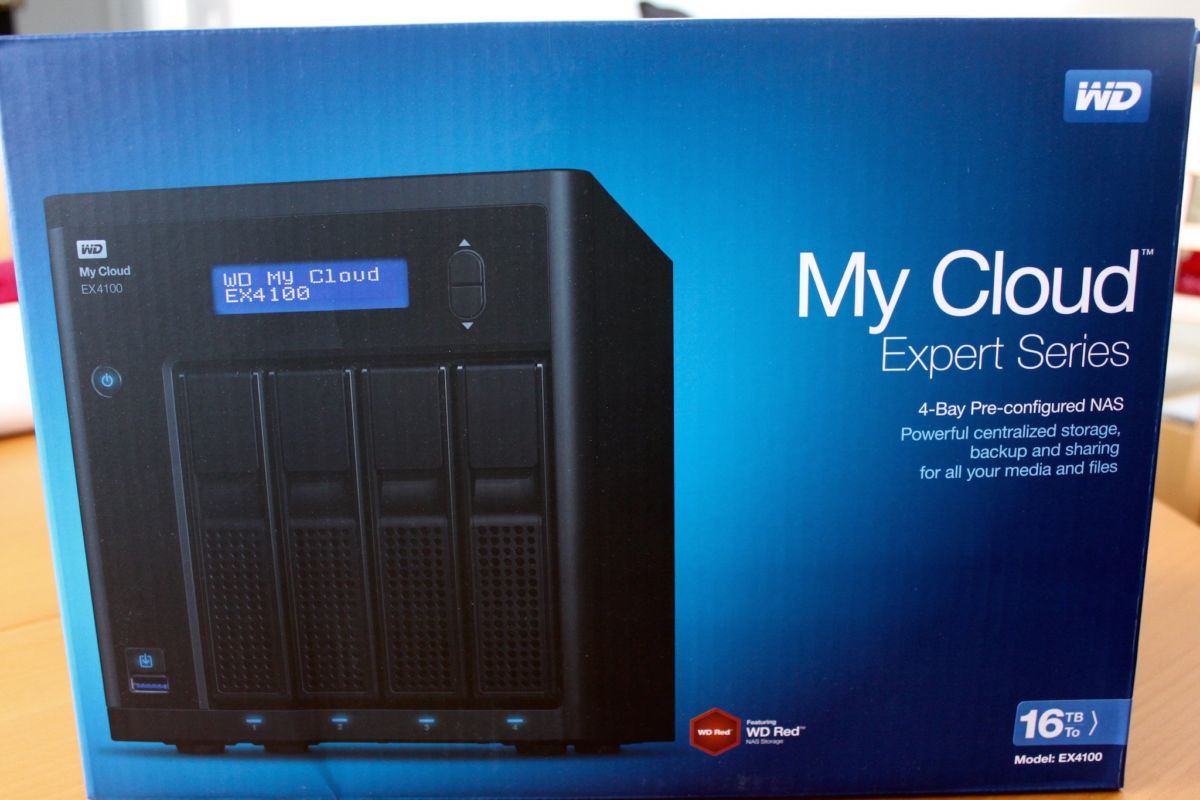 Test NAS WD My Cloud EX4100 - Test NAS - WD My Cloud EX4100