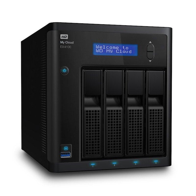 WD MyCloud EX4100 - WD My Cloud EX2100 et EX4100