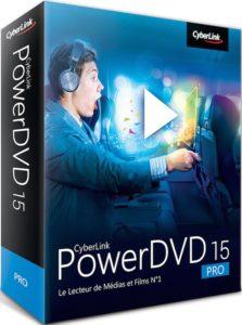 box PDVD15 Pro fra l 223x300 - PowerDVD 15 disponible : TrueTheater Color & Sound, WASAPI, ISO Blu-ray & DVD, 4K, accélération matérielle H.265 et H.264
