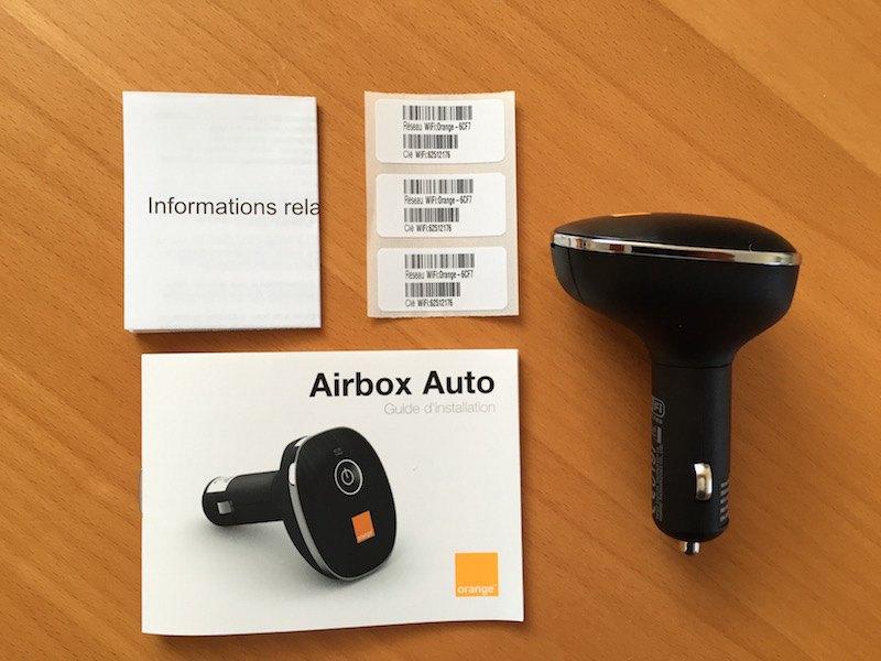 deballage Airbox Auto - Airbox Auto d'Orange, le point d'accès facile dans votre voiture