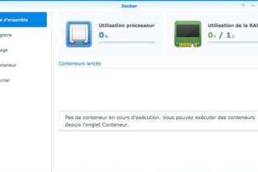 docker synology vue general 370x247 - Synology DSM - Découverte de Docker