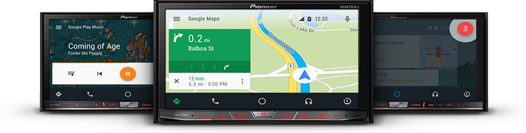 autoradio compatible android auto - Pioneer lance Android Auto
