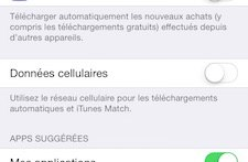 itunes donnees cellulaires - Comment économiser son forfait Internet 3G / 4G ?