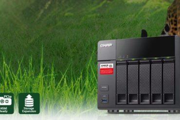 qnap TS 563 370x247 - QNAP TS-563, un NAS 5 baies avec un SoC AMD