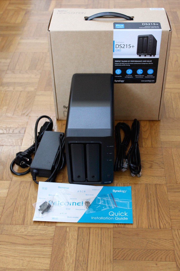synology ds215  - Test du NAS 2 baies - Synology DS215+