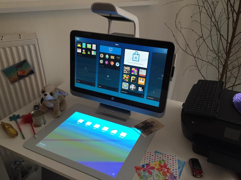 HP SPROUT - Mon avis sur le nouvel ordinateur Sprout de HP !