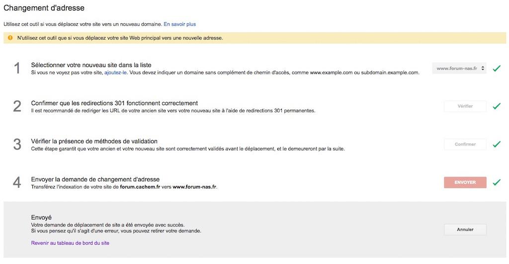 changement fin - Migrer un forum phpBB d'un domaine à un autre en 15 minutes